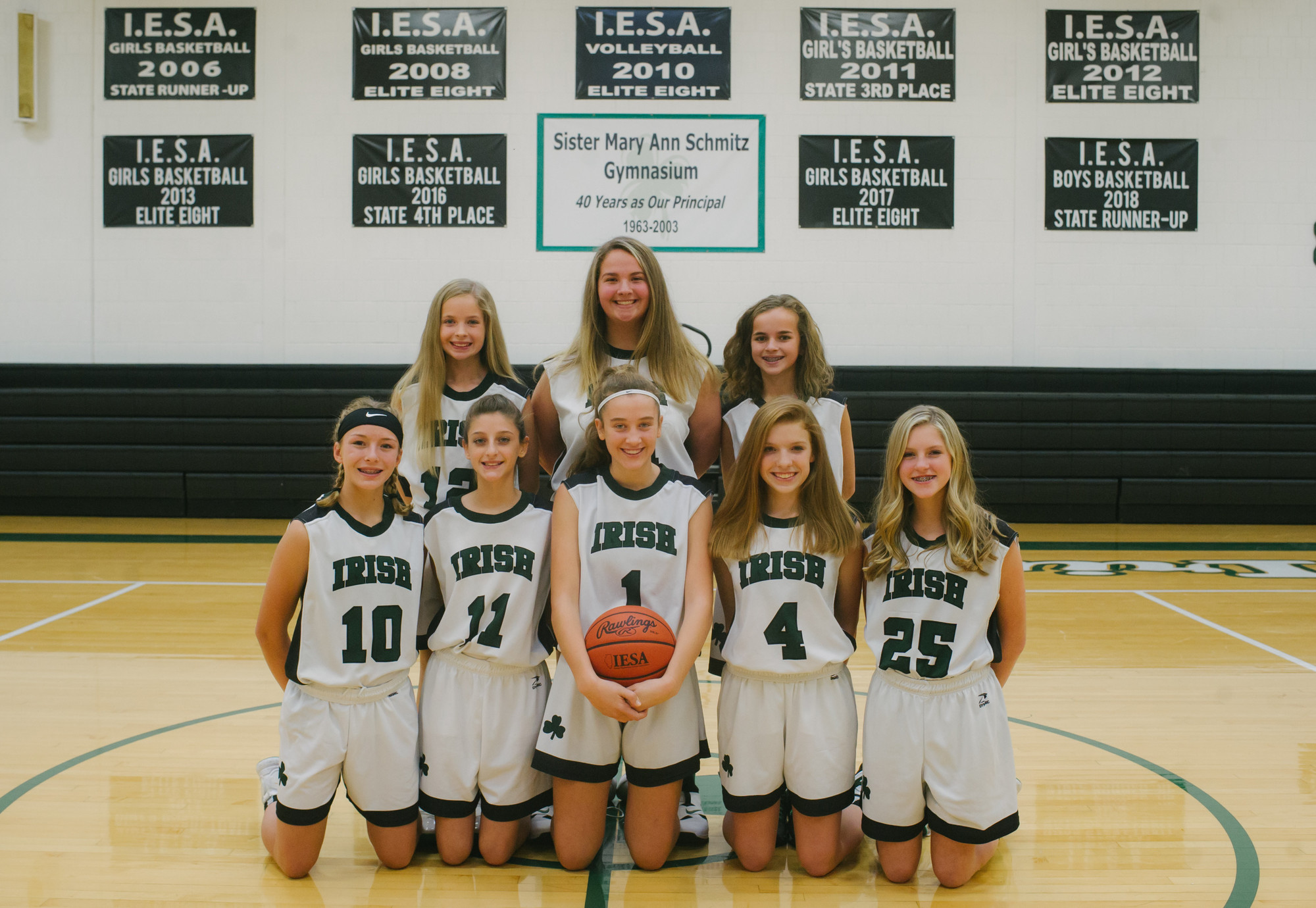 Girls Basketball 8th Grade Team