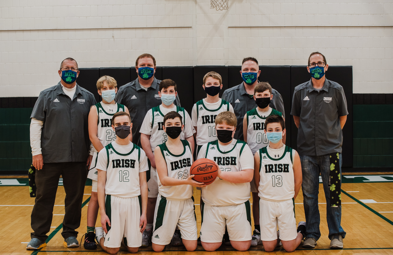St Pats Basketball 7th Grade2021