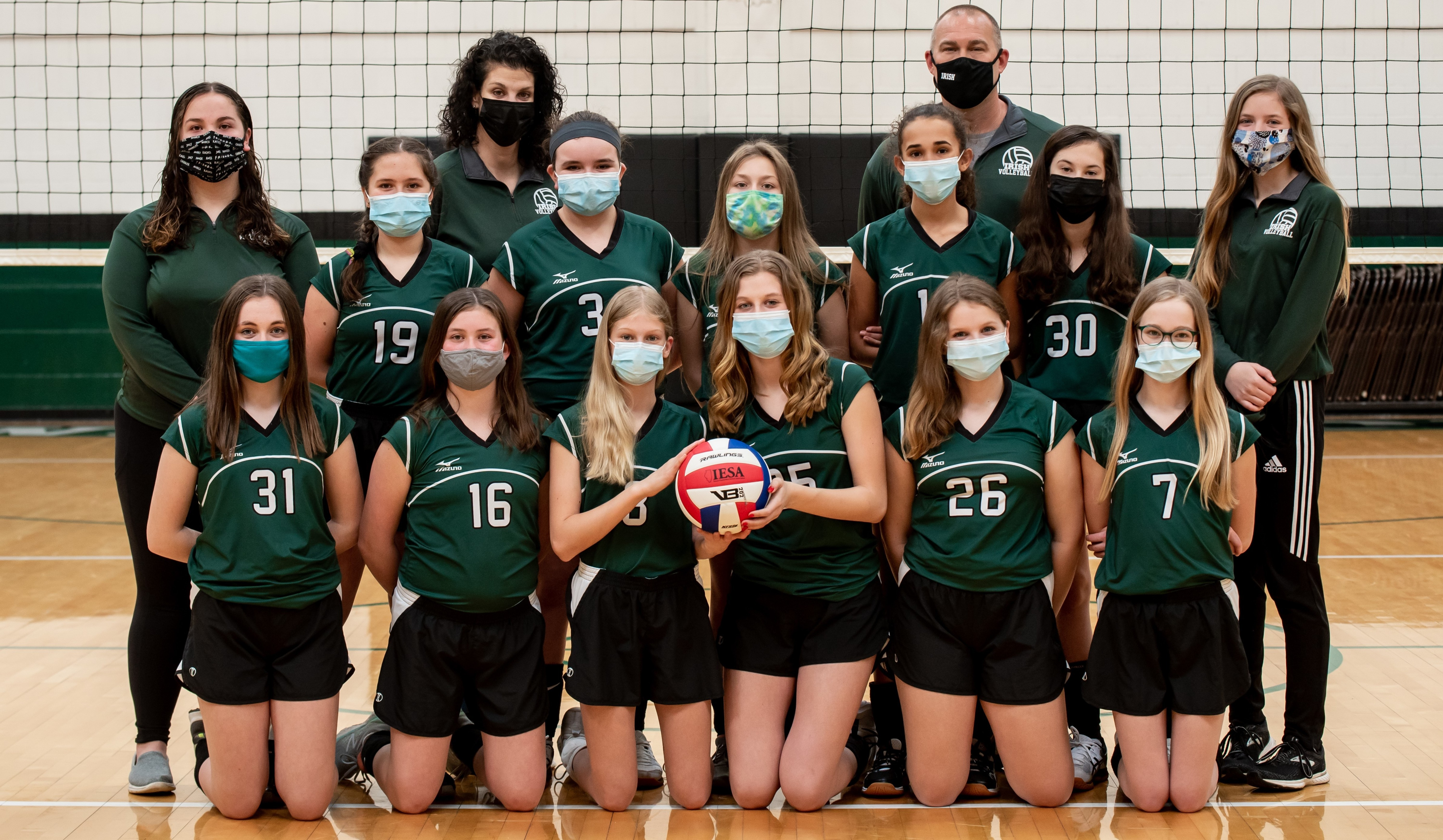 St Pats Volleyball 7th Grade 1