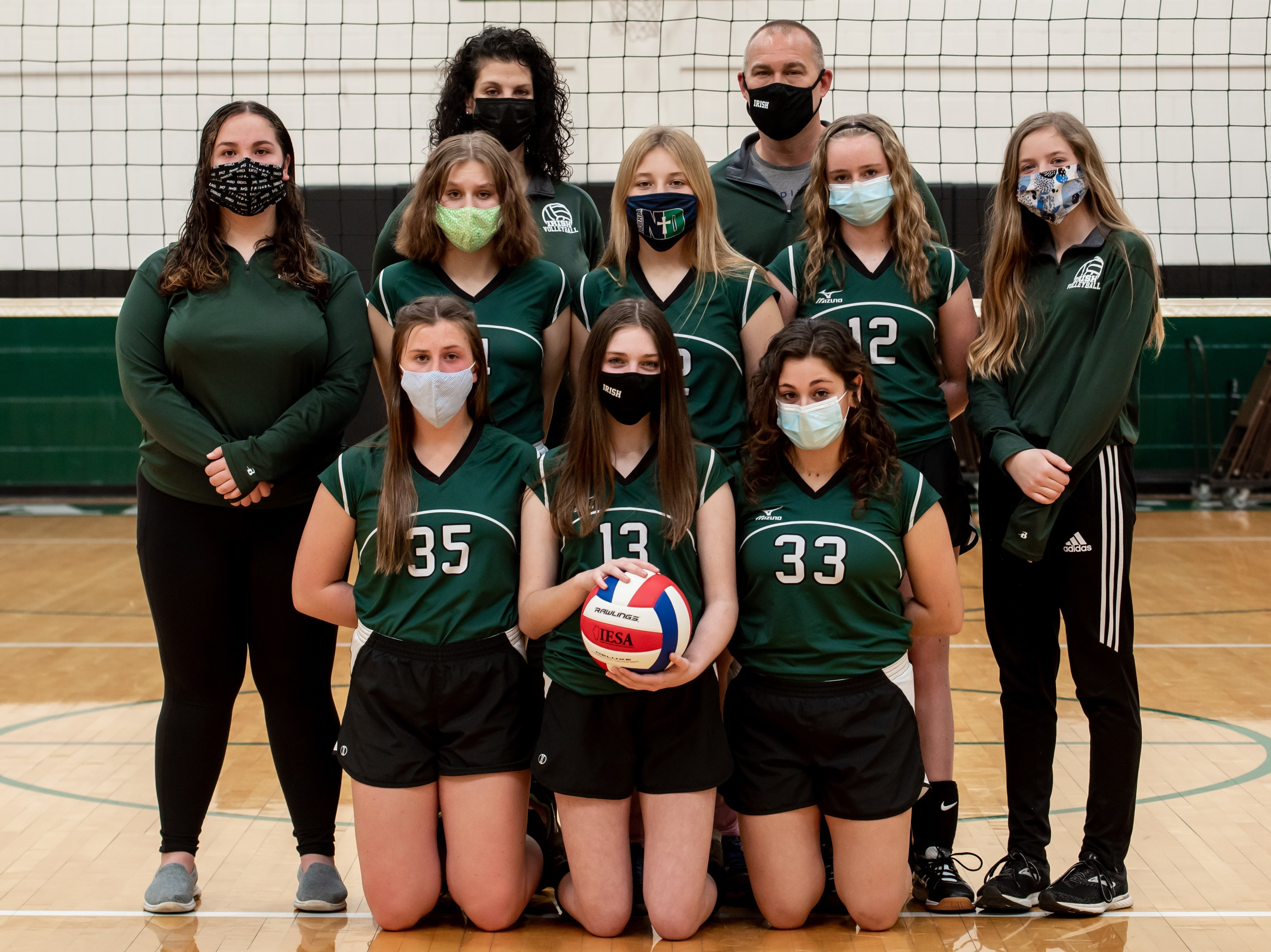 St Pats Volleyball 8th Grade 1