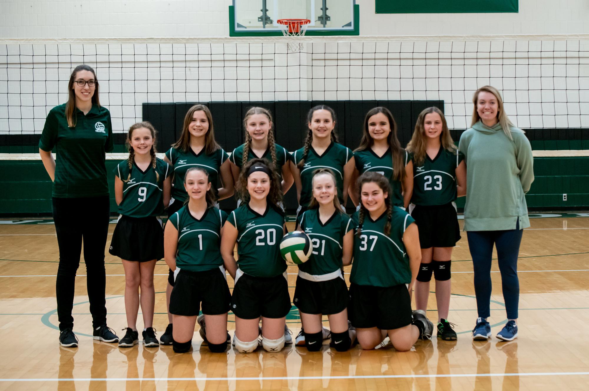 Volleyball 7th Grade Team