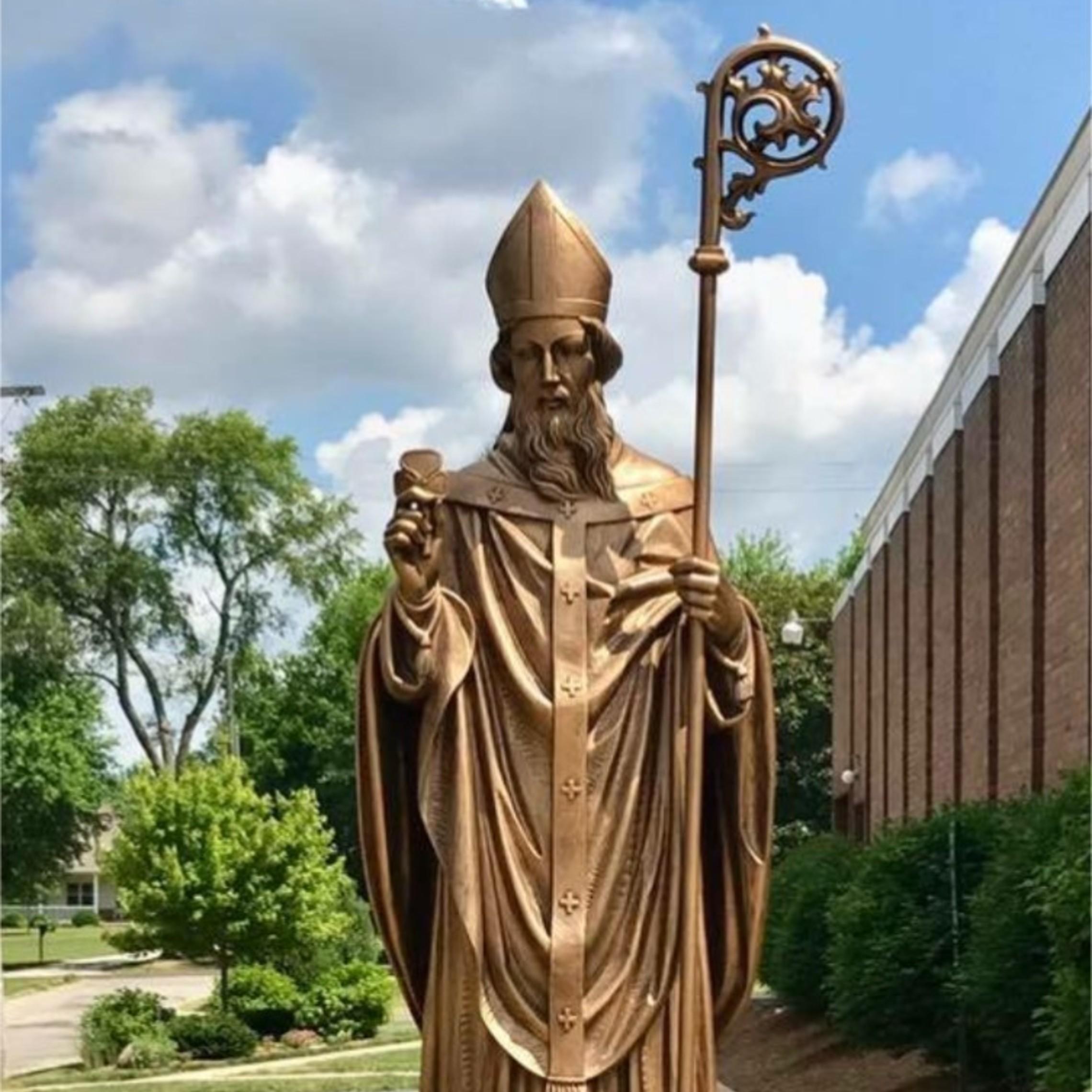 St. Patrick Statue 2018 3